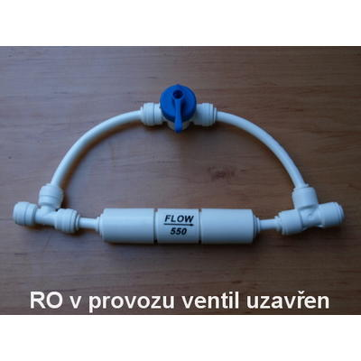 Oplachový ventil membrány pro reverzní osmózu - 1