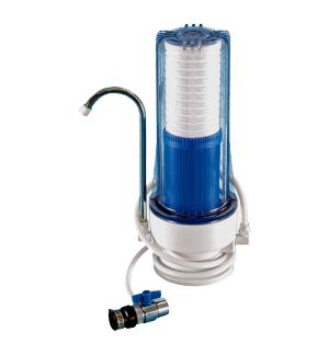Jednoduchý filtr včetně výdejní baterie