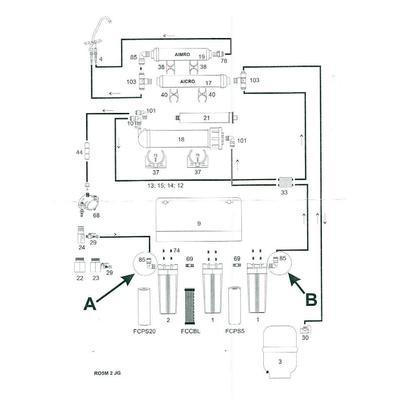 Systém Reverzní osmoza FRO 5 - 3